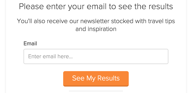 Lead generation email